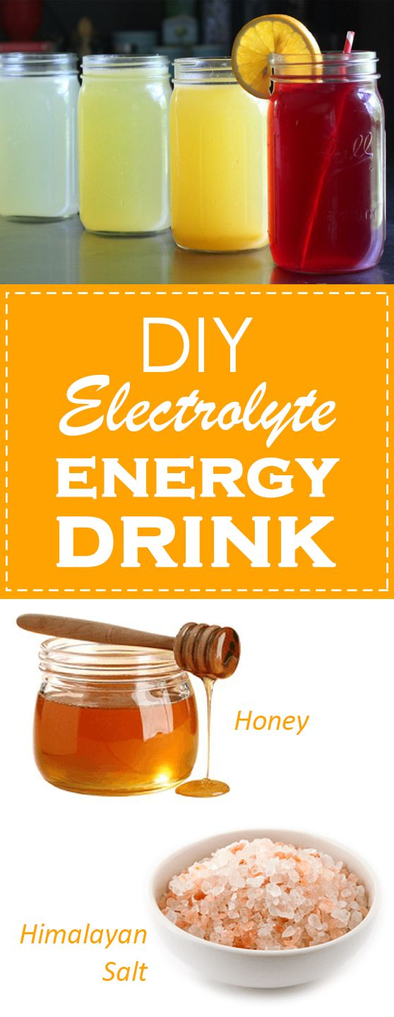 The basic formula for a good electrolyte drink is very simple:  water 6-8% carbohydrate 300-700 mg sodium per liter flavor  #health #drink #benefit #electrolyte