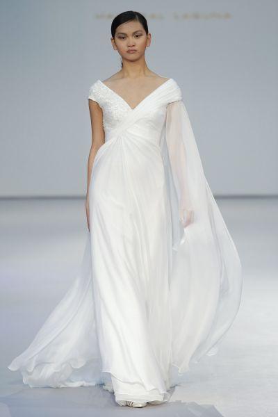 Vestidos de novia para mujeres con mucho pecho 2017: Diseños que te harán lucir fantástica Image: 17