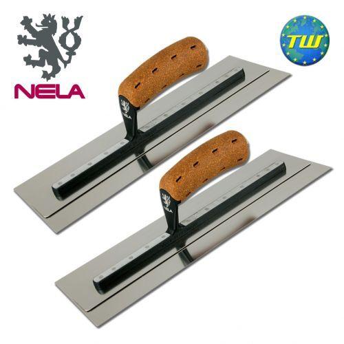 "NELA 14"" x 4.3"" SuperFLEX Trowel TWINPACK - 2x NELA Trowels 14 x 4.3 inch  http://www.twwholesale.co.uk/product.php/section/10327/sn/NELA-Trowel-14x4.3-PROMO"
