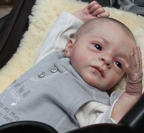 Reborn Baby Boy Doll ROMEO by Natali Blick New sculpt Little Sunshine Nursery | eBay