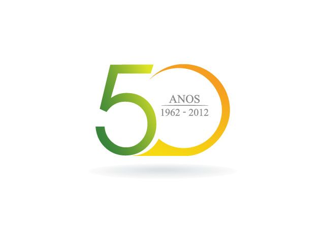 Winning logo Design for a Spanish 50th anniversary