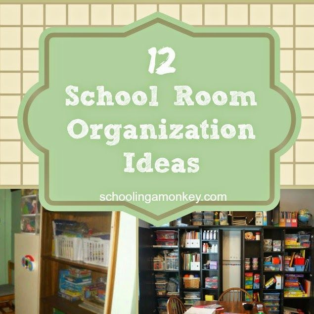 Our house is small, so we don't have a dedicated school room. Usually, Monkey drifts between sofa, coffee table, and kitchen table to do her various subjects. We have some dedicated storage to school books (like our school cubby), and we keep all school/craft supplies in a closet in my home office. This year, we …