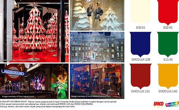 Inspirasi Display Natal & Tahun Baru #Future #Color http://matarampaint.com/detailNews.php?n=278