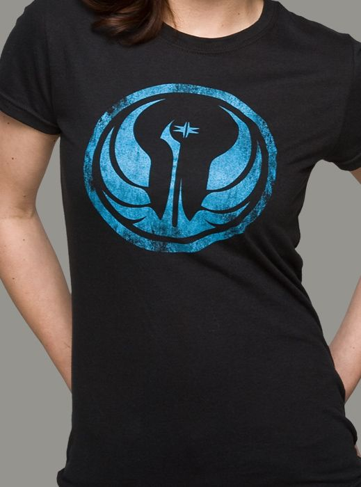 J!NX : Star Wars: The Old Republic Galactic Republic Women's Tee - Clothing Inspired by Video Games & Geek Culture