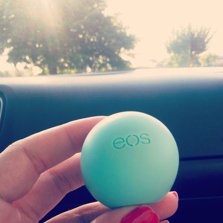 Beauty #EOS lip balm