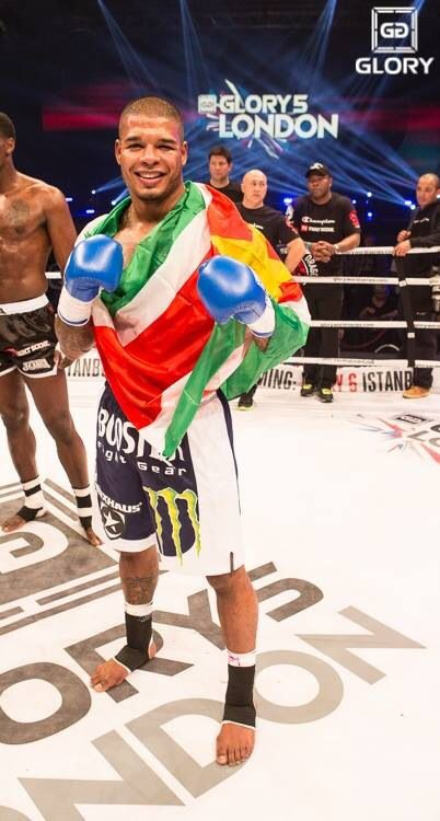 tyrone Spong represented Suriname,our fatherland..
