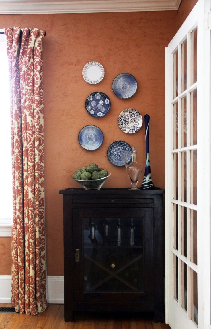 17 best ideas about burnt orange curtains on pinterest for Orange and brown kitchen decor