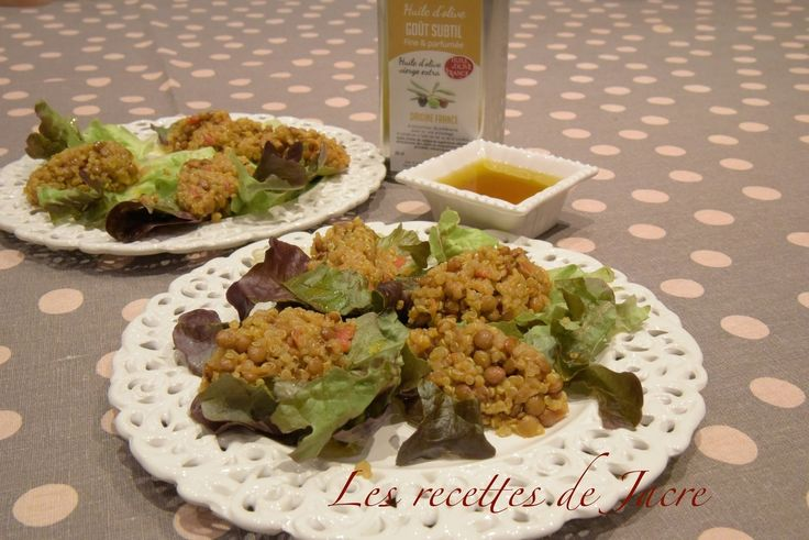 salade de lentilles corail et quinoa au curry pique nique et salades pinterest quinoa et. Black Bedroom Furniture Sets. Home Design Ideas