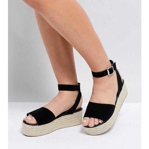 Fit Espadrille Flatform Sandals