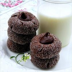 #Biscotti al doppio #strato di #cioccolata.