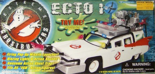 Extreme Ghostbusters ECTO-1 by Trendmasters UNOPENED