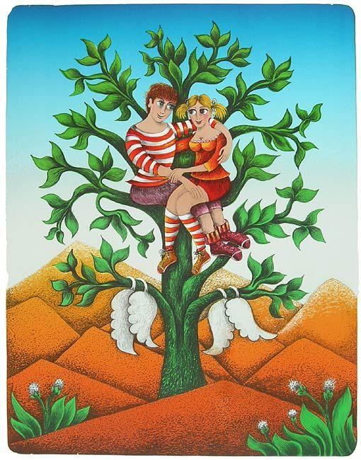 Tour- by Emma Srncová-it is my favorite Czech painter