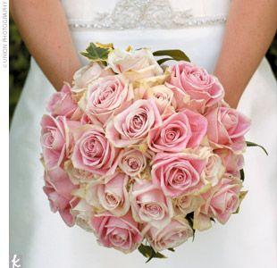 Bouquet mariee + demoiselles d'honneur