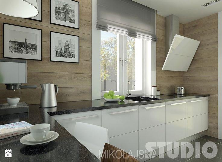 Witam,chciałbym wiedzieć co jest w kuchni na ścianie? Glazura czy panele? - Homebook.pl