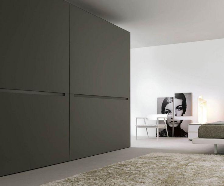 Spectacular Kleiderschrank Vitro Glasschiebet ren Wei Hochglanz