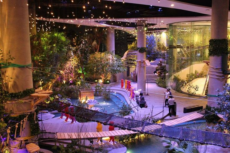 Urban Adventure - Rope course and zip line for kids inside 5 star shopping complex Bangkok SM Hub