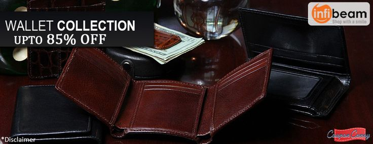 Up to 85% Off On #Mens #Leather #Wallet at #infibeam!! Hurry up and Claim now : http://www.couponcanny.in/infibeam-coupons/