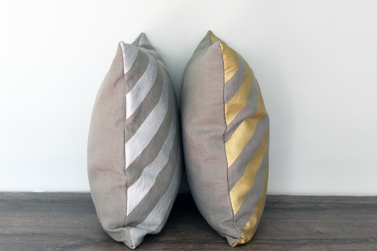 Reflections linen/silver and linen/gold. Available on www.lempidesign.fi