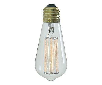 Lampadina filamento decor in vetro Joule - 6x14 cm