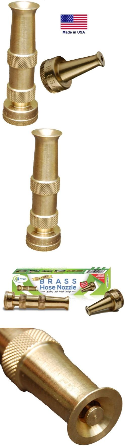 Hose Nozzles and Wands 181015: Brass Hose Nozzle - Ultimate High Pressure Garden Water Car Washer Nozzle..New!! -> BUY IT NOW ONLY: $30.85 on eBay!