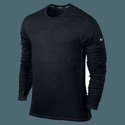 Nike Herre Dri-Fit Wool Crew - Trøjer og mellemlag - Løbetøj - Løb - Herre