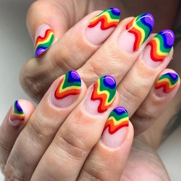 37 Ways to Upgrade on Your Rainbow Nail