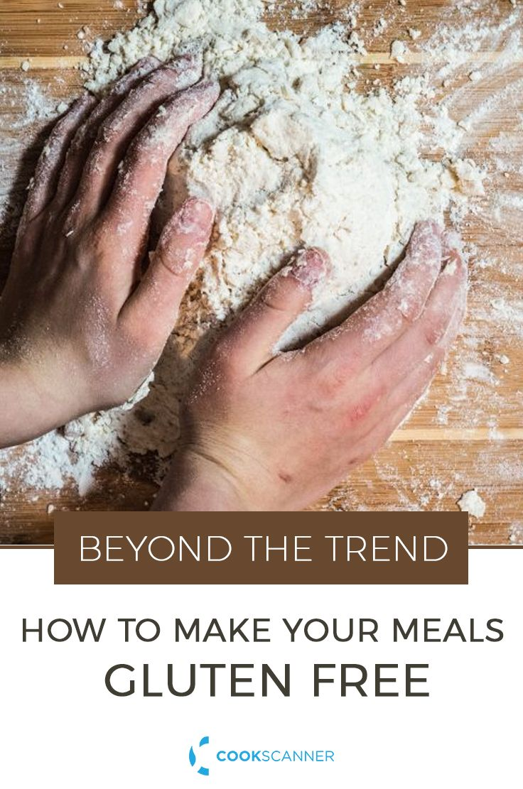 More and more Americans are diagnosed with coeliac disease, or gluten sensitivity. Learn how to make any meal gluten-free, with this easy guide. https://cookscanner.com/blog/trend-gluten/