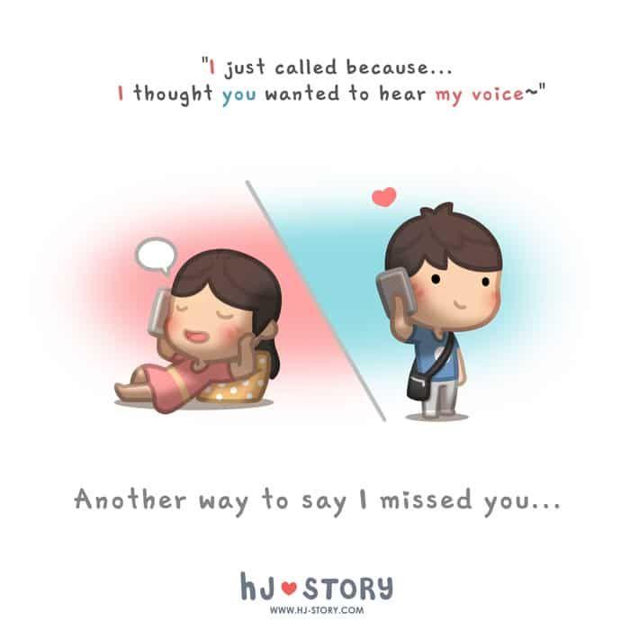 HJ-Story :: Just Call to Say... | Tapastic Comics - image 1