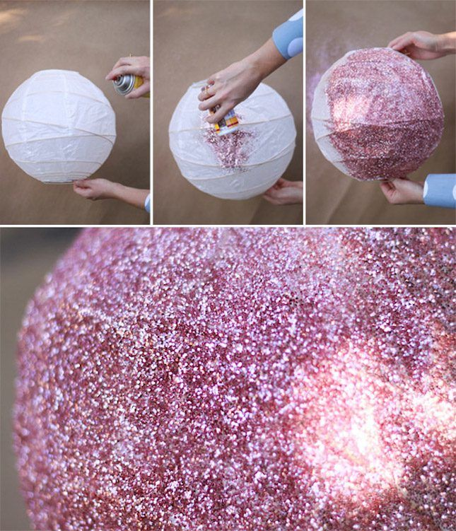 DIY a glitter disco ball for your wedding or other events with this IKEA lighting hack.