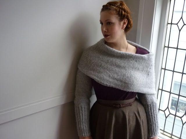 sciarpone - scarf/sweater  http://arsgratiaartis-shalyn.blogspot.fi/2011/12/sciarpone-inspiration.html