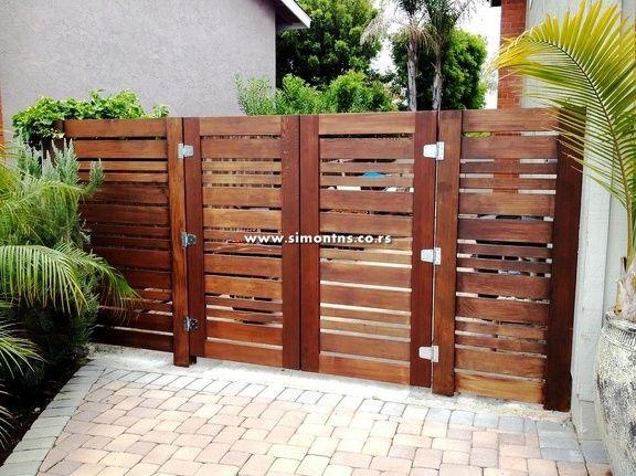Drvena Kapija 8 Jpg Modern Wooden Fences Moderne Drvene