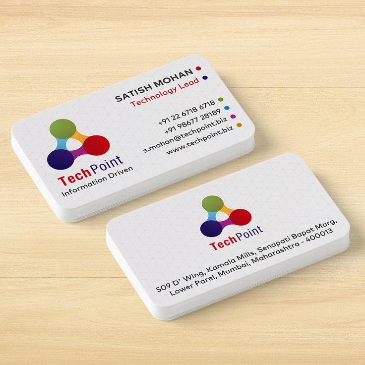 Rounded Corner Visiting Cards Vistaprint Visiting Cards Cards How To Memorize Things