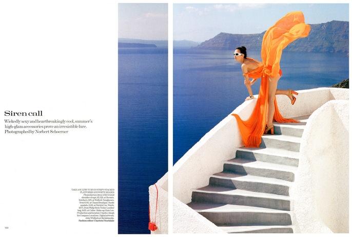 charlotte stockdale for British Vogue