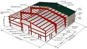 Steel Building Design Drafting, Steel Building Drawing services