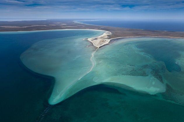 Shark Bay, Shell Beach in L'Haridon Bight, Western Australia