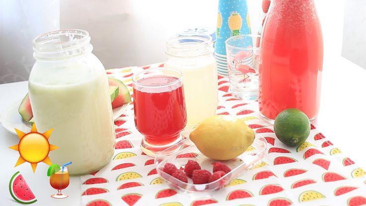 4 sommerliche Limonadenrezepte