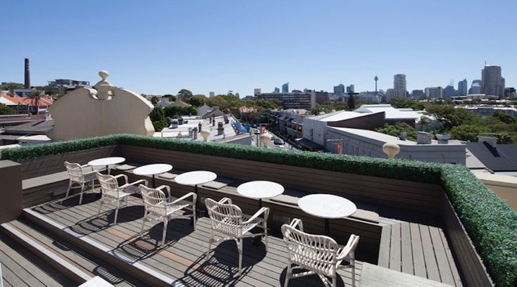 The Royal Hotel - Enjoy a drink on the rooftop at this Paddington bar.