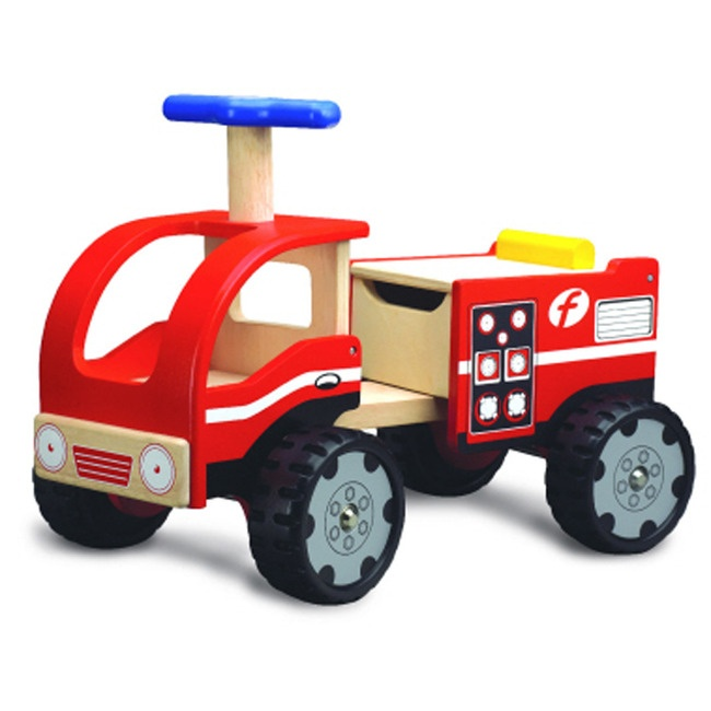 Pola Ride On Fire Engine Toy