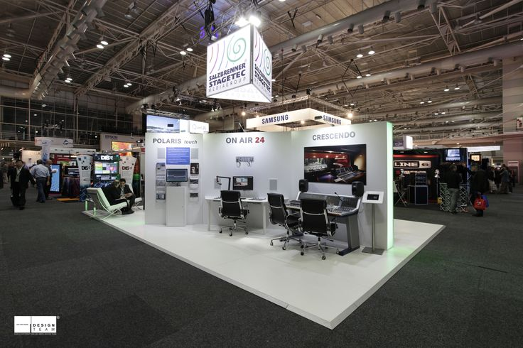 STAGETEC SALZBRENNER Stagetec, a specialist manufacturer of stage and broadcast audio equipment, requires a minimalist and hitech demonstration environment for their exceptional equipment.