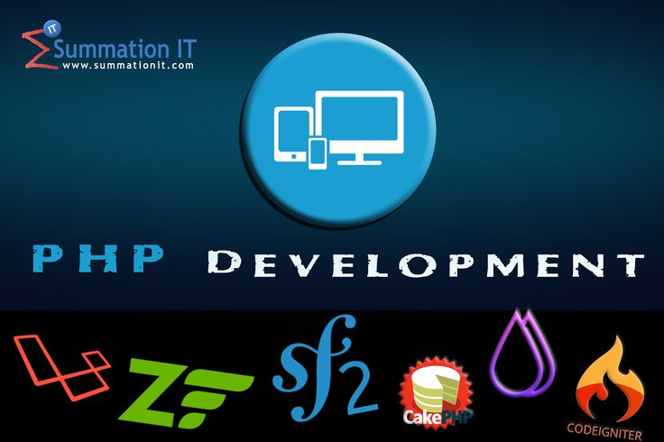 We are specialized in #PHP #web applications #development. Our In-house #php team has immense experience in #web #development with #php frameworks such as #laravel #zend #symfony #codeigniter #fuelphp #cakephp. #outsource your #php #web #development projects to us, Talk to us today.   Read more at: http://www.summationit.com/php-web-development