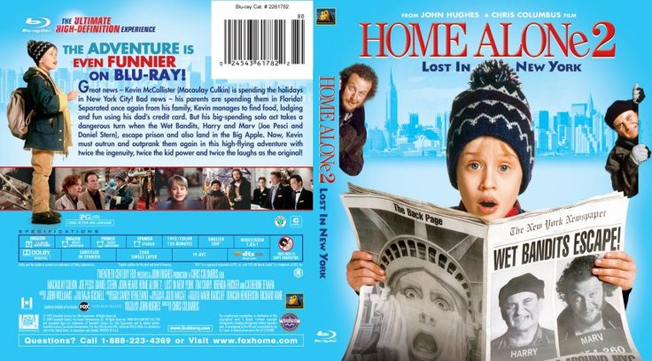 Poster Image Starring:Macaulay Culkin,Joe Pesci,Daniel Stern,John Heard,Tim Curry,Brenda Fricker Catherine O'Hara Directed by:Chris Columbus Distributed by:20th Century Fox. Release Date: November 20 1992. Home Alone 2 Lost in New York Trailer was last modified: February 13th, 2016 by Kaarle Aaron