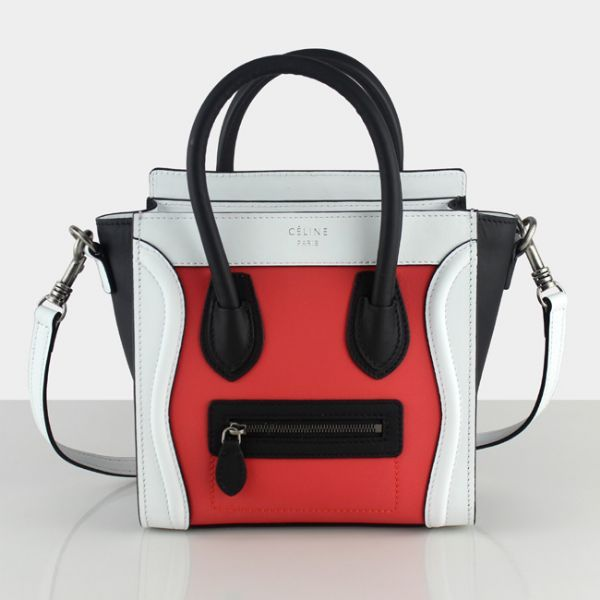 celine luggage watermelon