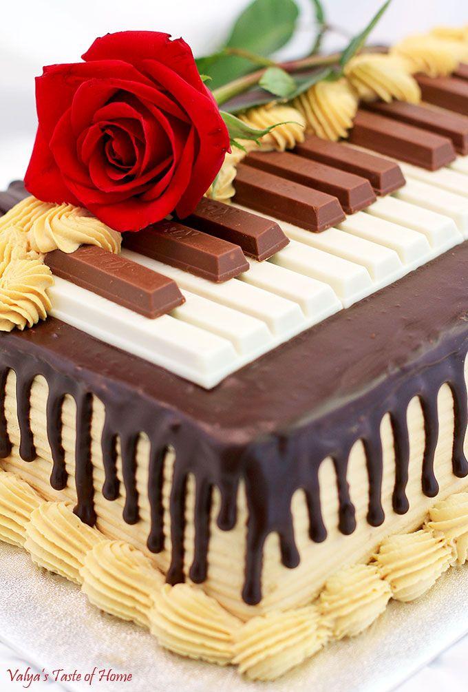 Grooms cake??? Chocolate Meringue Cake Recipe (Piano Version)
