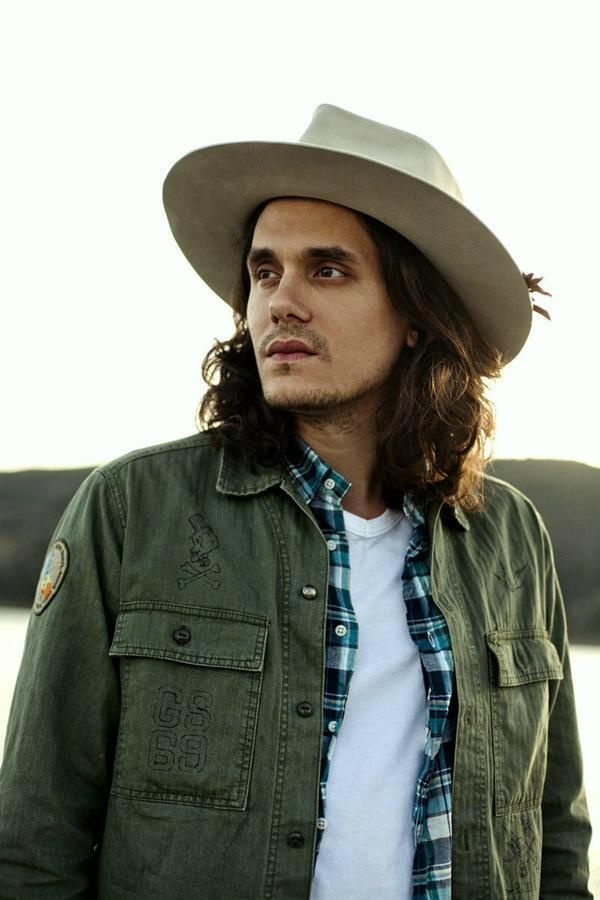 John Mayer because his music is amazing (and also because my eyes find his face really pretty).