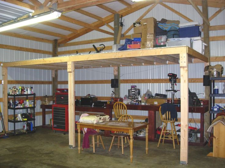 202 best homes garages and sheds images on pinterest for Pole barn garage with loft