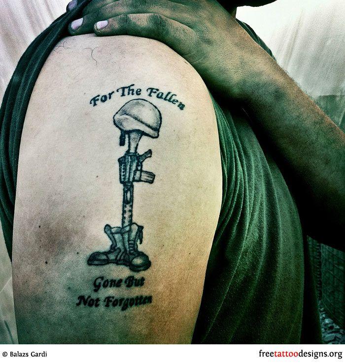 39 Best Military Shoulder Tattoos For Men Images On