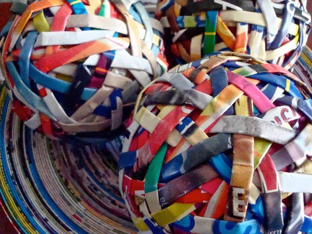 Η τέχνη του Up-Ποδηλασία: Ανακυκλωμένο Περιοδικό Τέχνης, Fab Λειτουργική σχέδια που γίνονται με ανακυκλωμένα περιοδικά