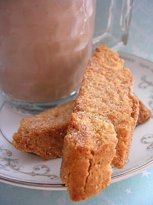 The Busty Baker: Cinnamon Sugar Biscotti (Day 7 of 12 Cookies of Christmas)