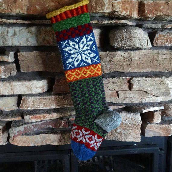 Personalized Christmas Stockings Custom Knit Christmas