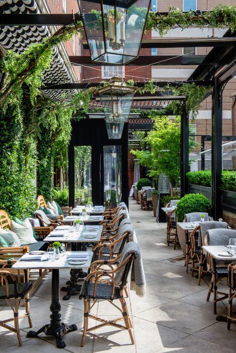 Amazing Concept Design Terrace Restaurant